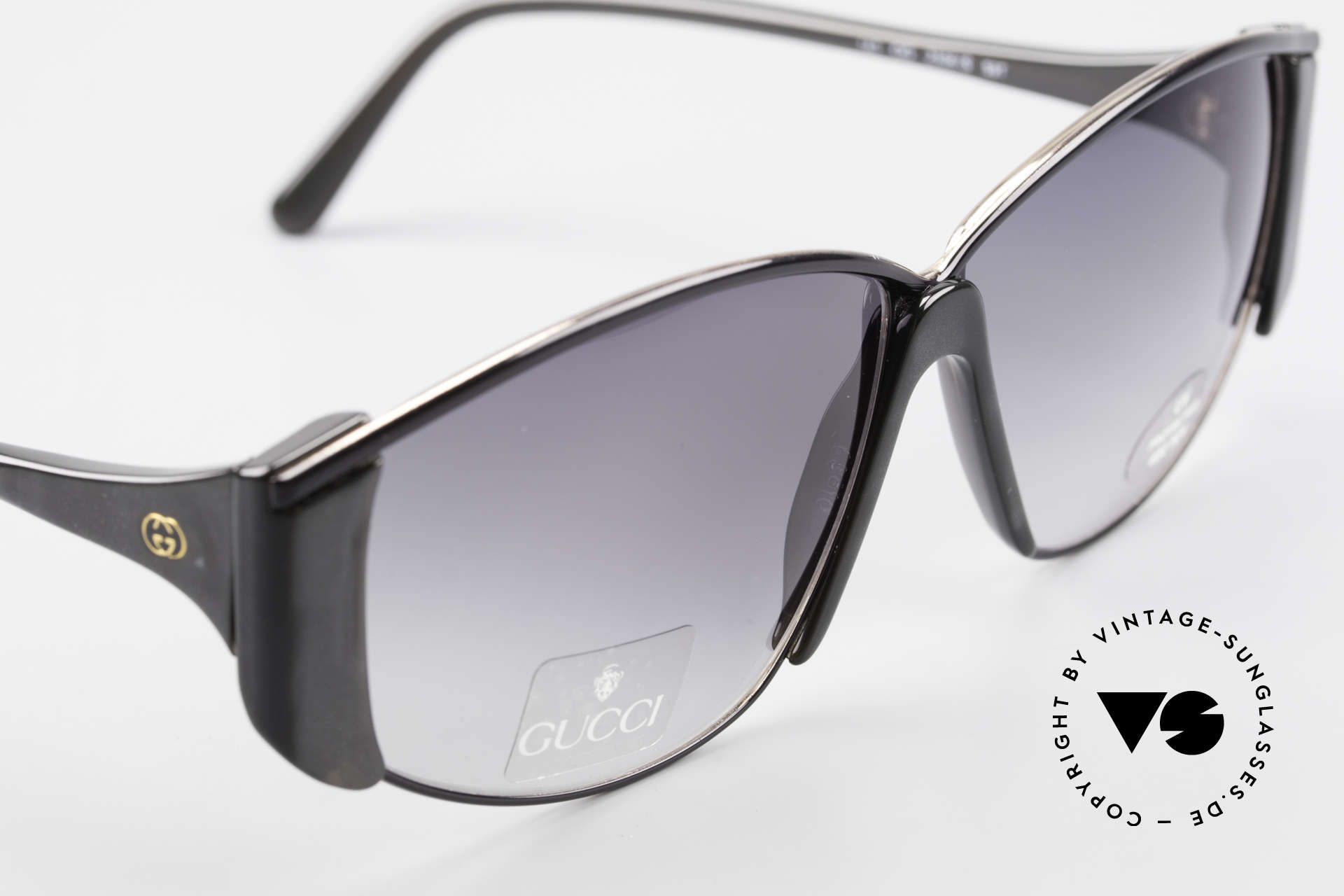 Gucci 2308 80's Ladies Designer Shades XL, never worn (like all our vintagte eyewear by Gucci), Made for Women