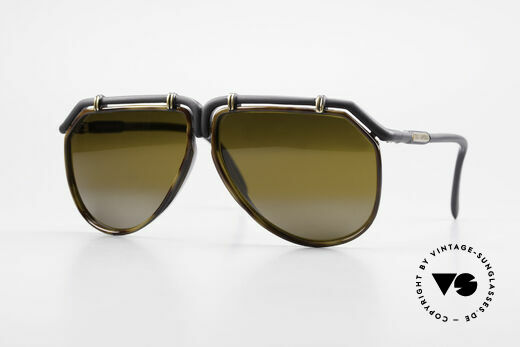 Ted Lapidus 1623 70's Men's Sunglasses Aviator Details