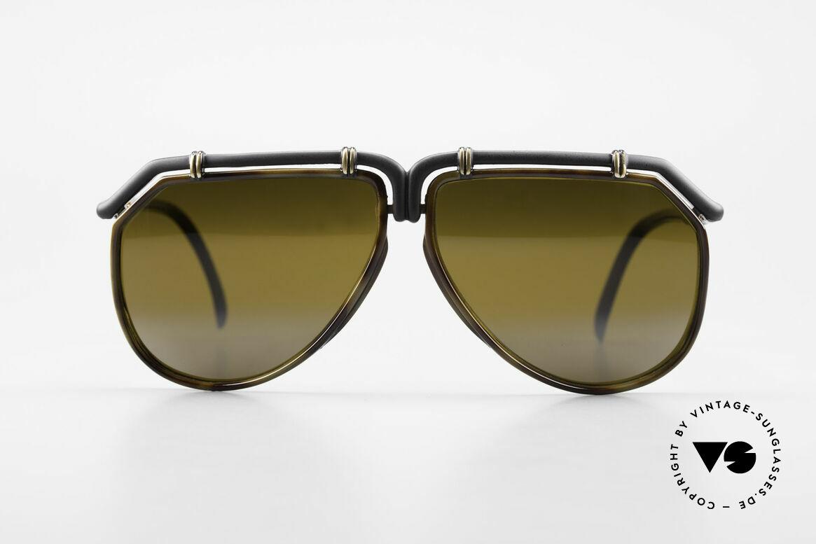 Ted Lapidus 1623 70's Men's Sunglasses Aviator, interesting frame design: Pilots / Aviator sunglasses, Made for Men