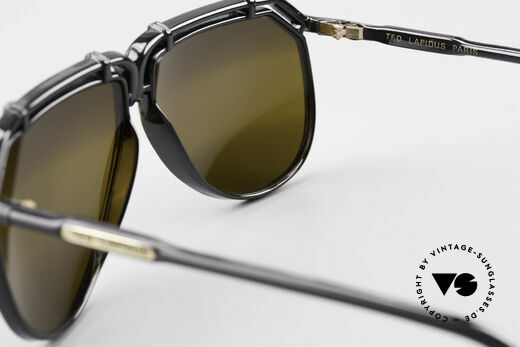 Ted Lapidus 1623 70's Men's Sunglasses Aviator, NO RETRO aviator design, but a 40 years old Original, Made for Men