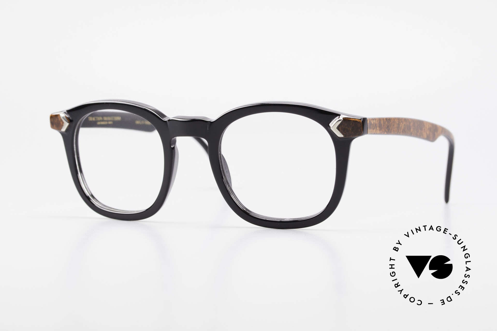 Traction Productions Allen Woody Allen Glasses 1980's, vintage frame by 'Traction Productions' France, Made for Men and Women
