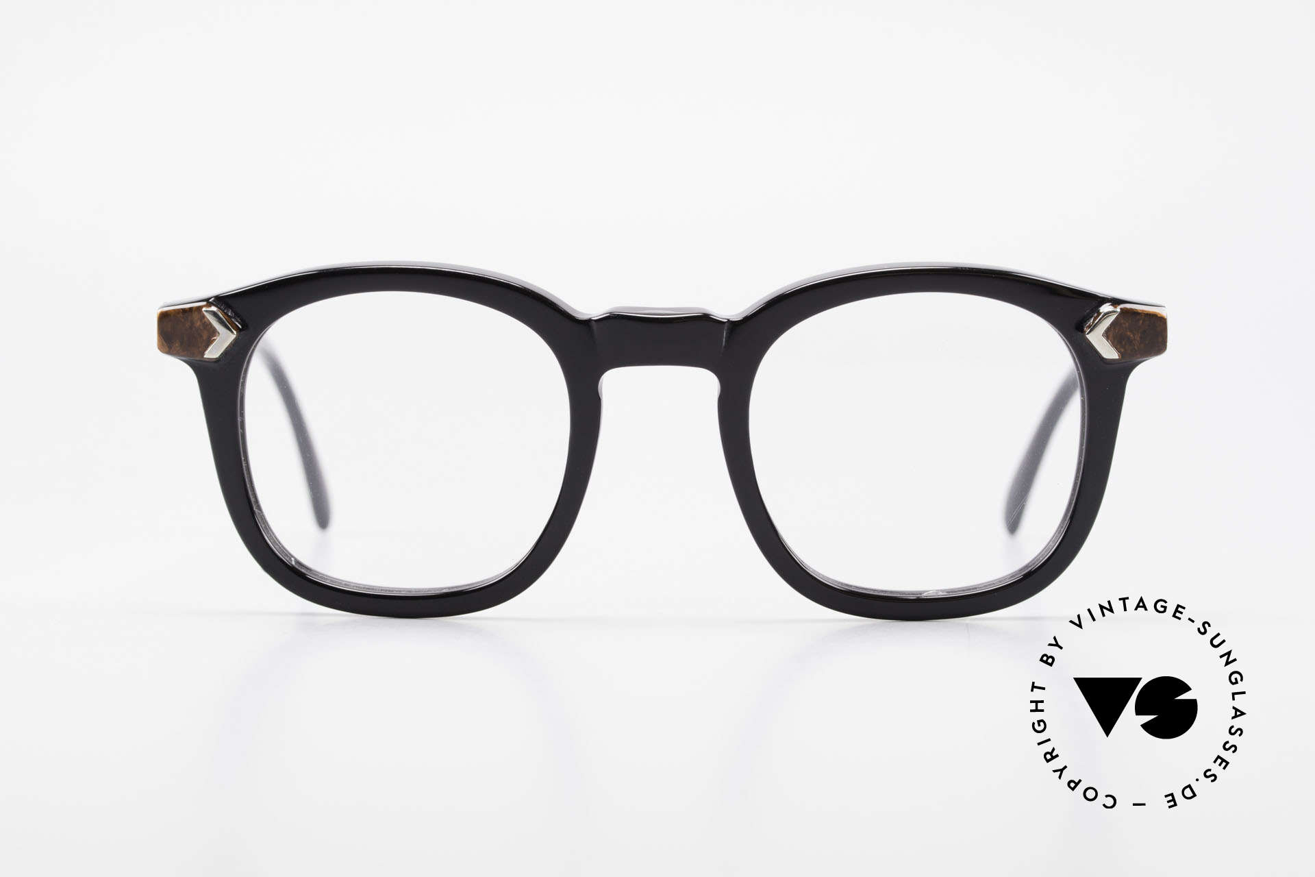 Traction Productions Allen Woody Allen Glasses 1980's, handmade in the 1980's in Morez (Jura Region), Made for Men and Women