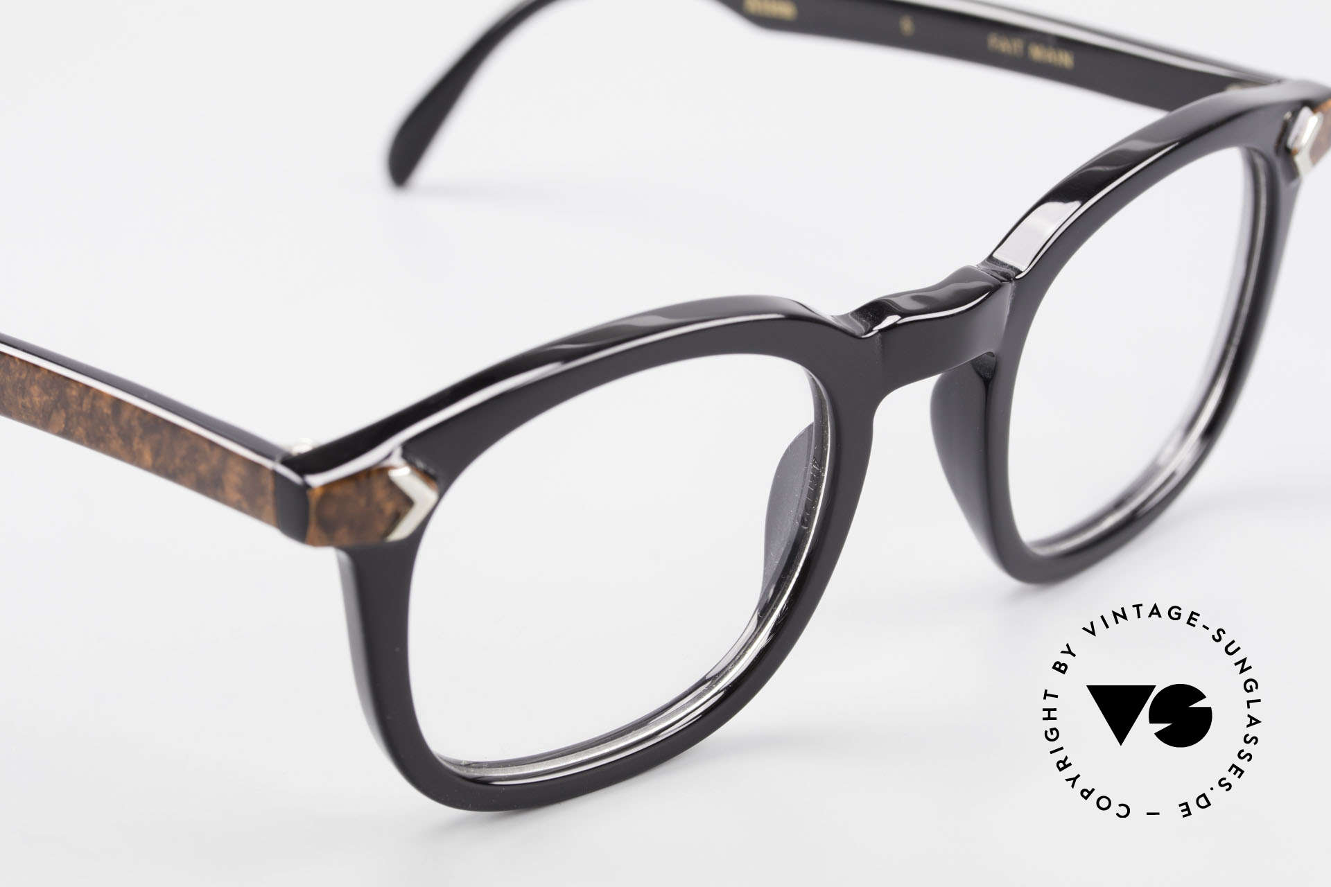Traction Productions Allen Woody Allen Glasses 1980's, UNWORN (like all our rare vintage 80's eyewear), Made for Men and Women