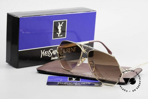 Yves Saint Laurent 8806 80's YSL Men's Luxury Shades, incl. original case and packing, TRUE VINTAGE!, Made for Men