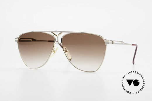 Yves Saint Laurent 8808 80's YSL Men's Aviator Shades Details