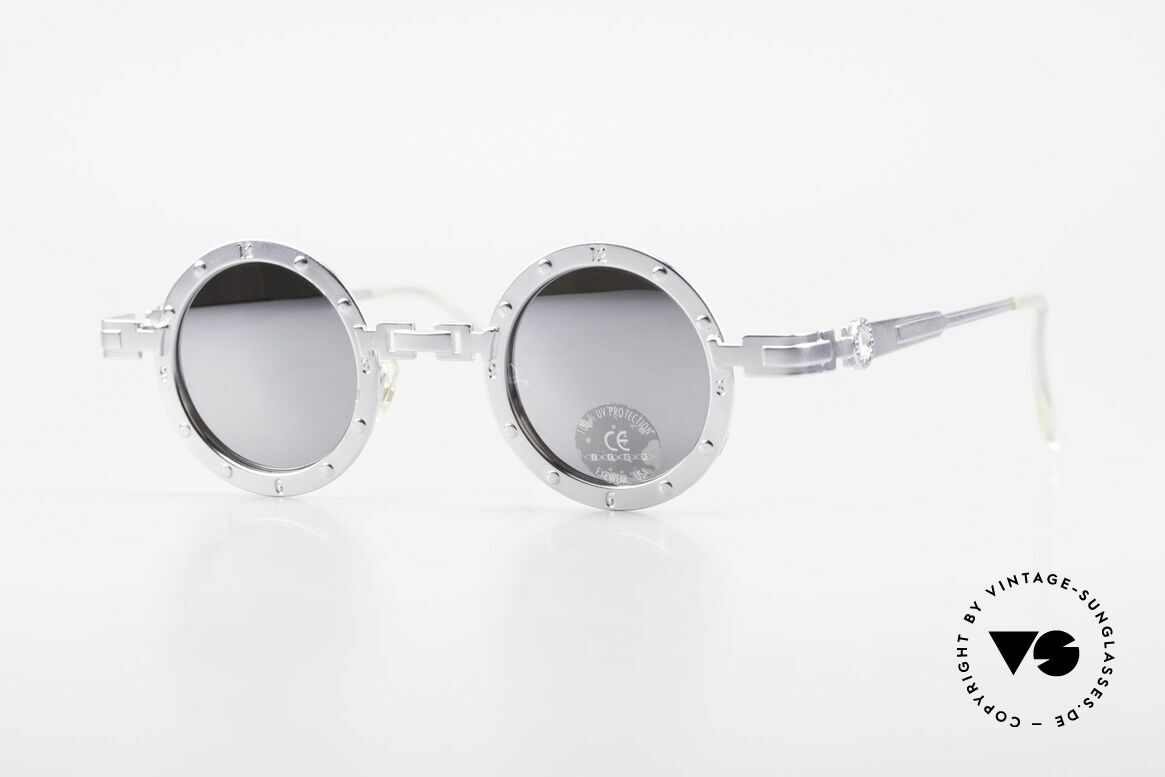 Koure Icon 2266 Mirrored Steampunk Shades, vintage KOURE sunglasses from 1994, Steampunk Style, Made for Men and Women