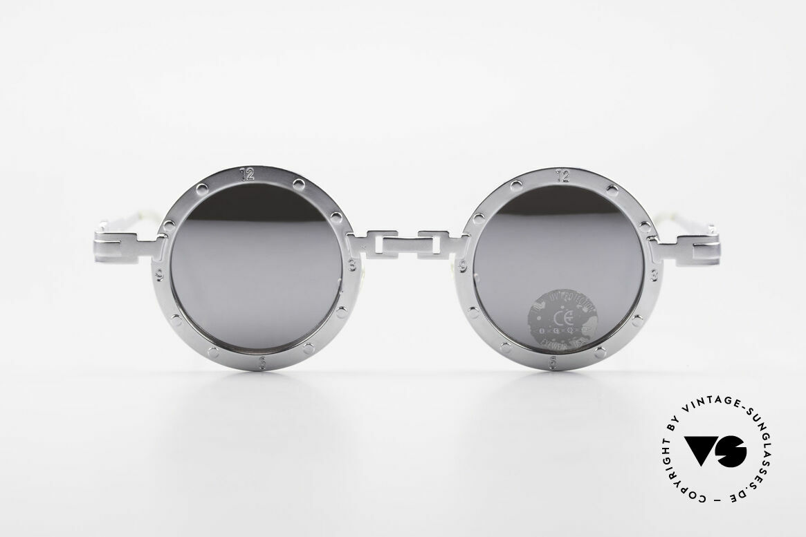 Koure Icon 2266 Mirrored Steampunk Shades, small but finely made eyewear-collection from South K., Made for Men and Women