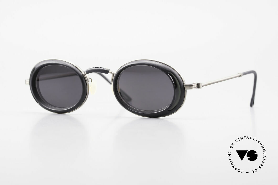 DOX 05 ATS Industrial Frame Gaultier Syle, RARE, old DOX sunglasses from 1995, made in JAPAN, Made for Men and Women
