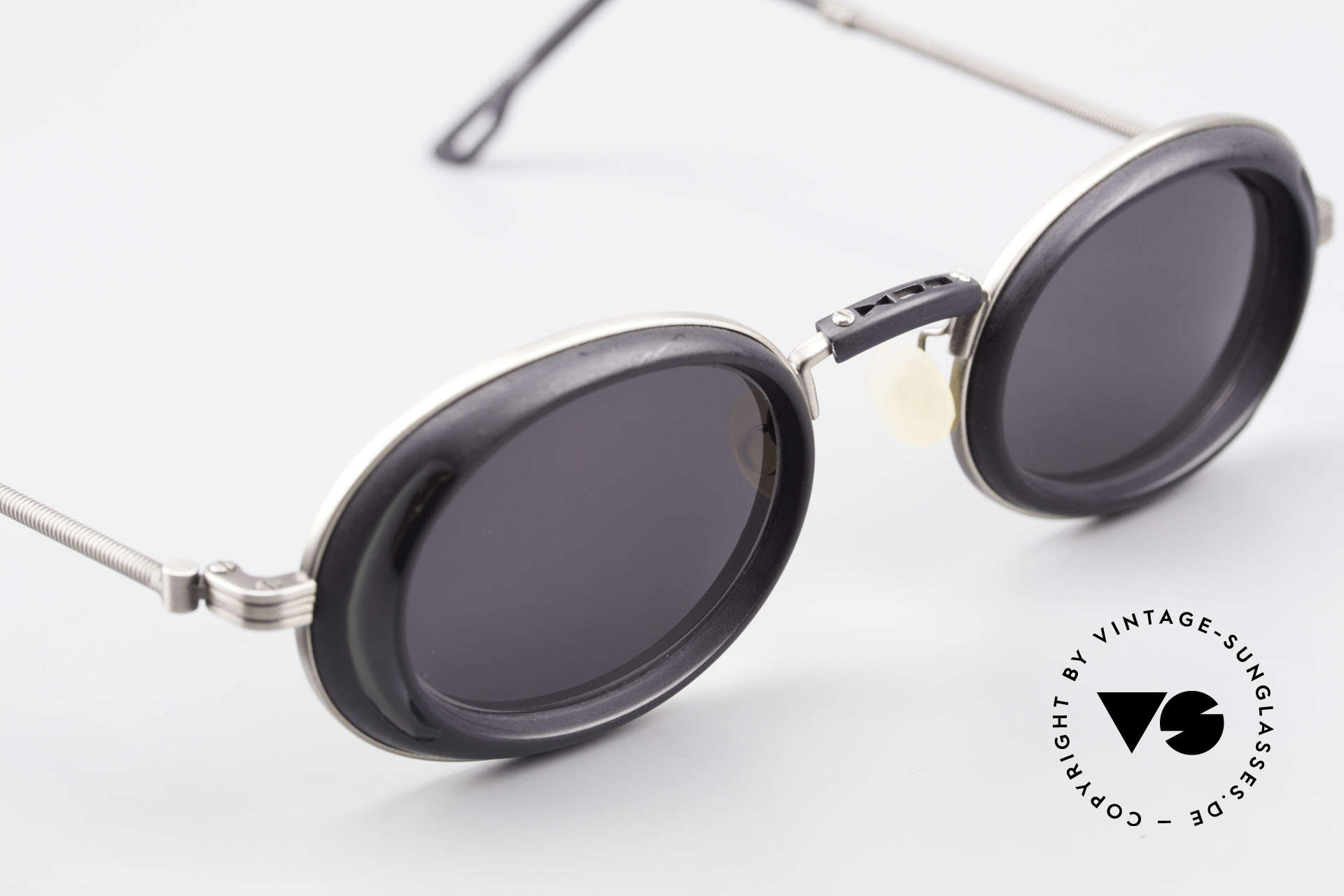 DOX 05 ATS Industrial Frame Gaultier Syle, unworn, NOS (like all our 90's sunglasses from Japan), Made for Men and Women