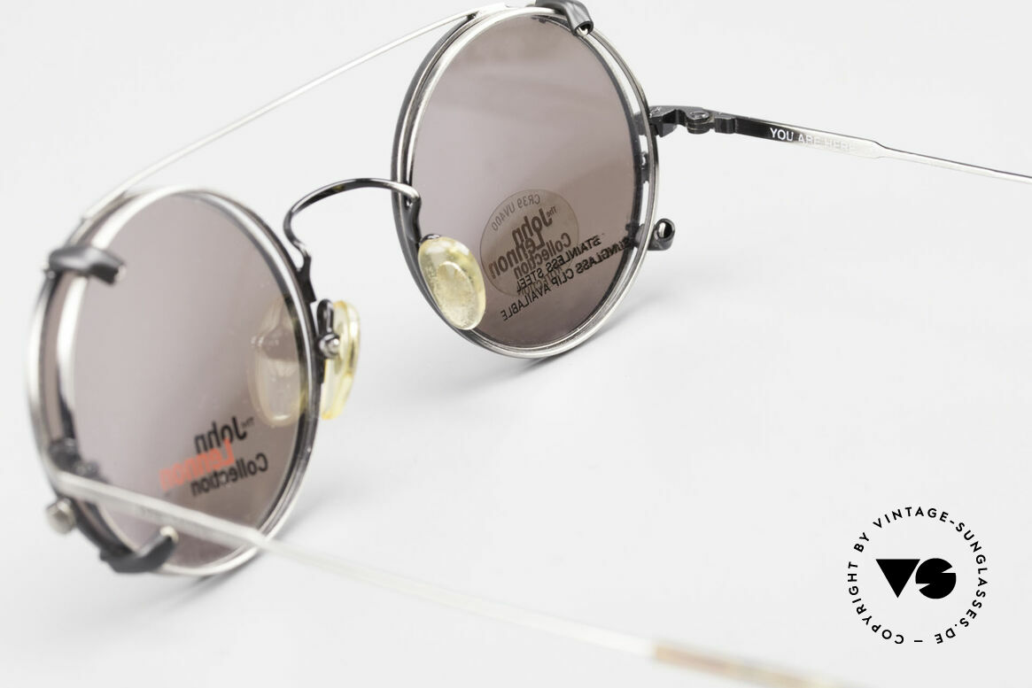 John Lennon - You Are Here Round Glasses With Clip On