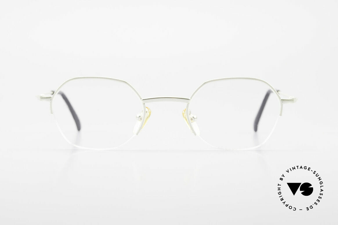 W Proksch's M62/24 90s Avantgarde Semi Rimless, back then, produced by Wolfgang Proksch himself, Made for Men and Women