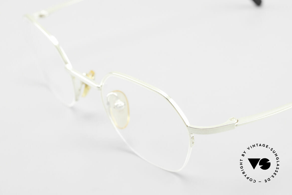 W Proksch's M62/24 90s Avantgarde Semi Rimless, since 1998 the company Kaneko produces licensed, Made for Men and Women