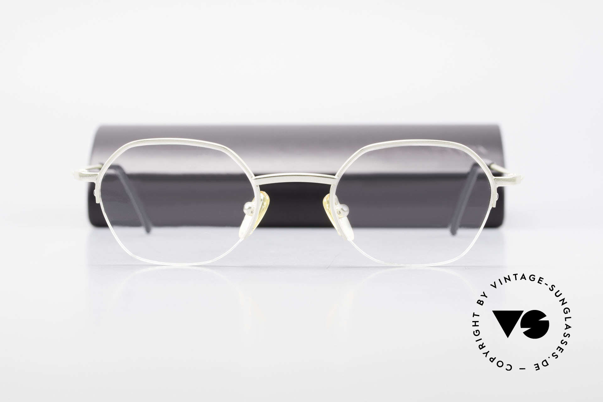 W Proksch's M62/24 90s Avantgarde Semi Rimless, NO RETRO SPECS; but an app. 25 years old rarity, Made for Men and Women
