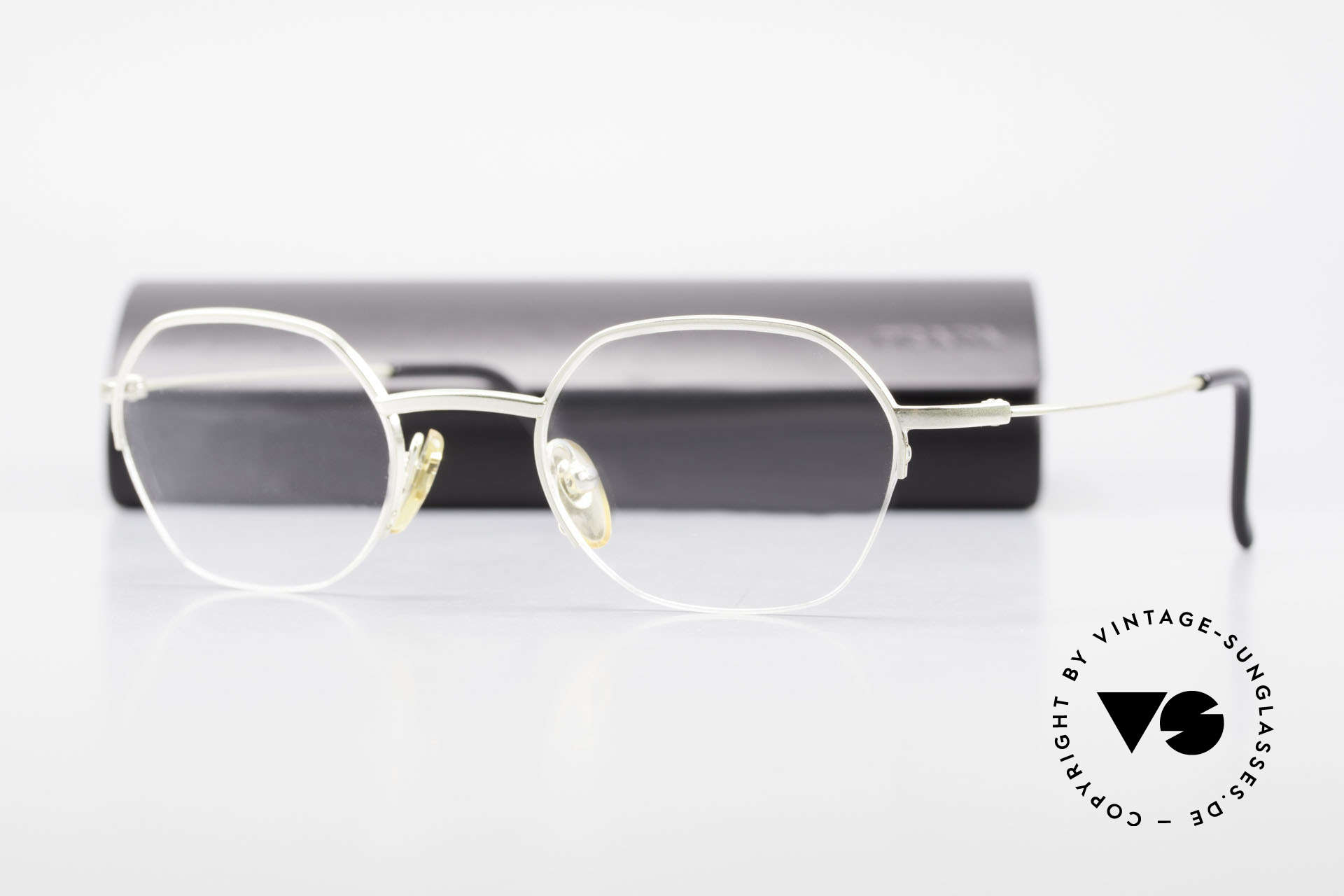 W Proksch's M62/24 90s Avantgarde Semi Rimless, PROKSCH worked for Oliver Peoples, Paul Smith ..., Made for Men and Women