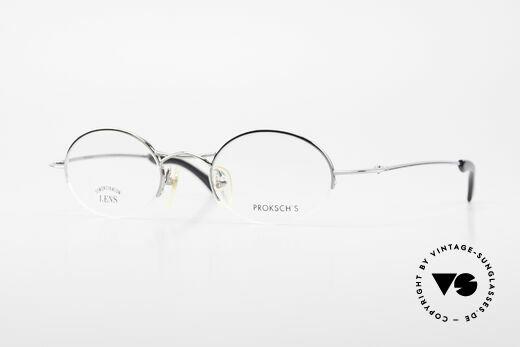 W Proksch's M35/2 Semi Rimless 90's Avantgarde Details