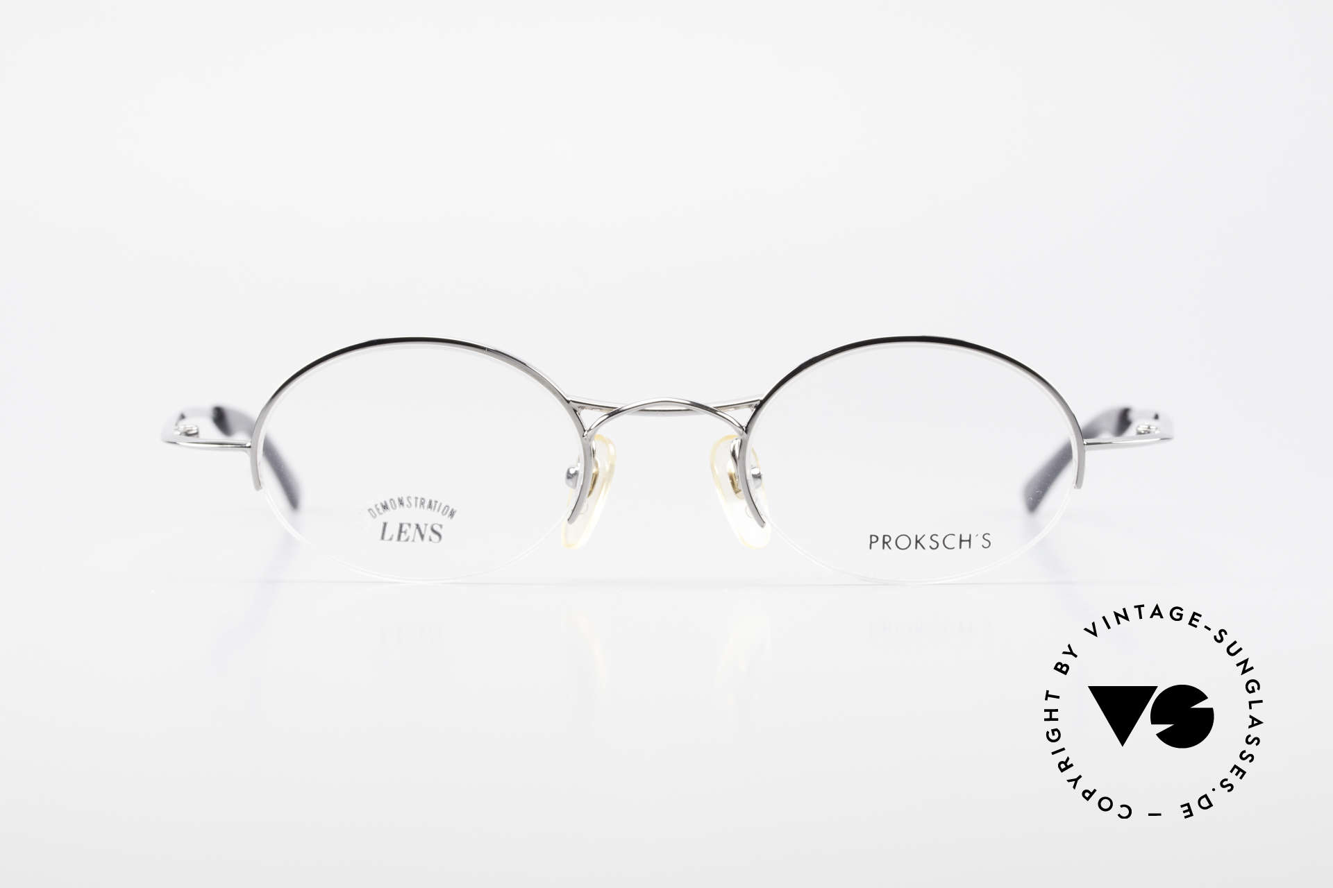 W Proksch's M35/2 Semi Rimless 90's Avantgarde, back then, produced by Wolfgang Proksch himself, Made for Men