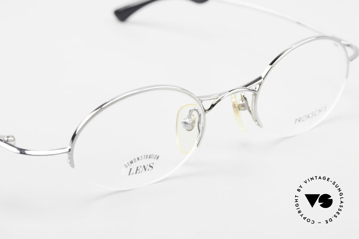 "W Proksch's M35/2 Semi Rimless 90's Avantgarde, this old WP ORIGINAL incarnates ""classy elegance"", Made for Men"