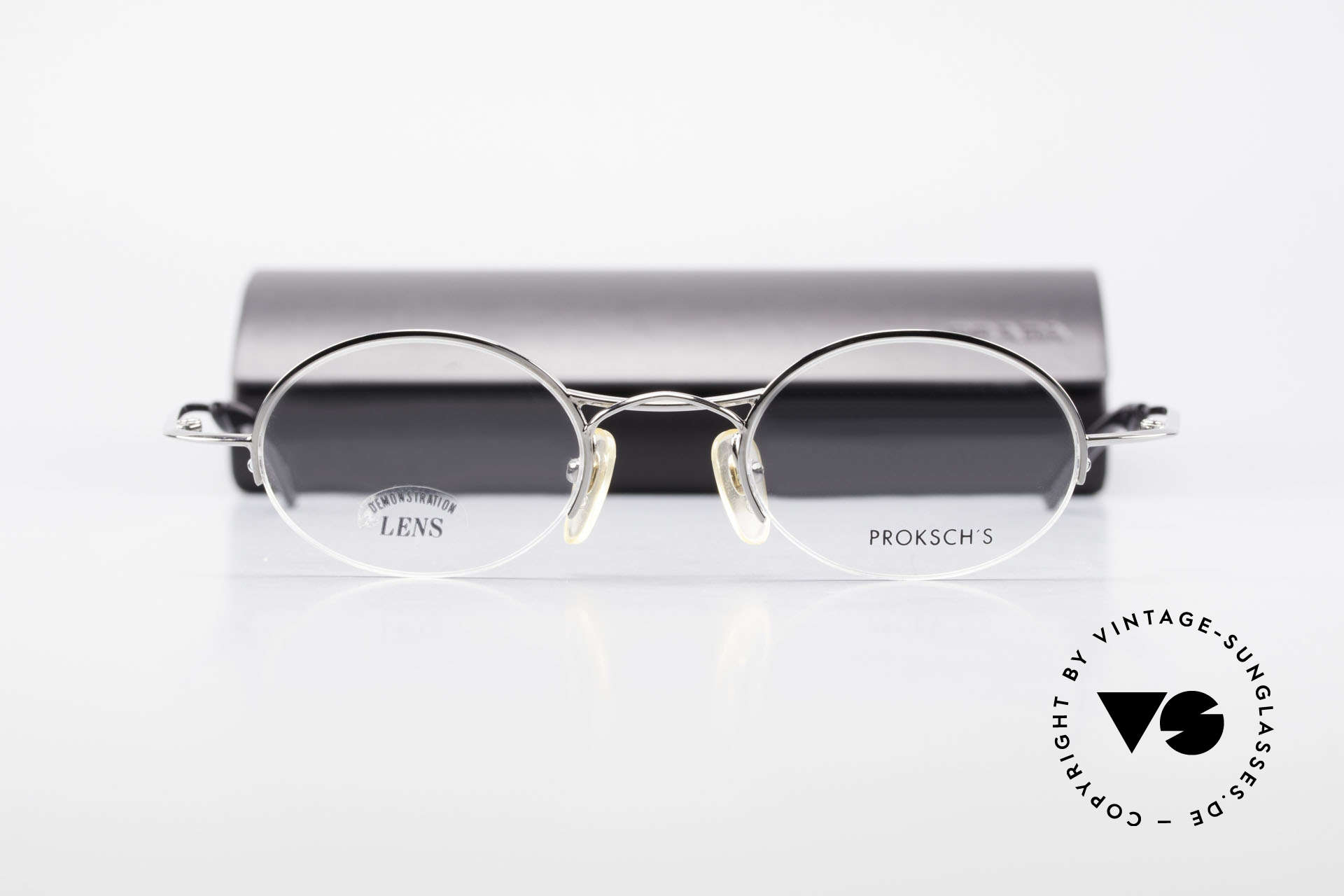 W Proksch's M35/2 Semi Rimless 90's Avantgarde, NO RETRO SPECS; but an app. 25 years old rarity, Made for Men