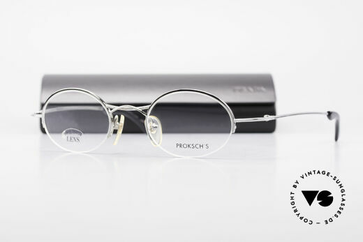 W Proksch's M35/2 Semi Rimless 90's Avantgarde, PROKSCH worked for Oliver Peoples, Paul Smith ..., Made for Men