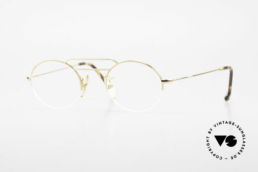 W Proksch's M5/7 90's Semi Rimless Gold-Plated Details