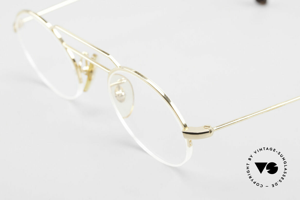 W Proksch's M5/7 90's Semi Rimless Gold-Plated, since 1998 the company Kaneko produces licensed, Made for Men and Women