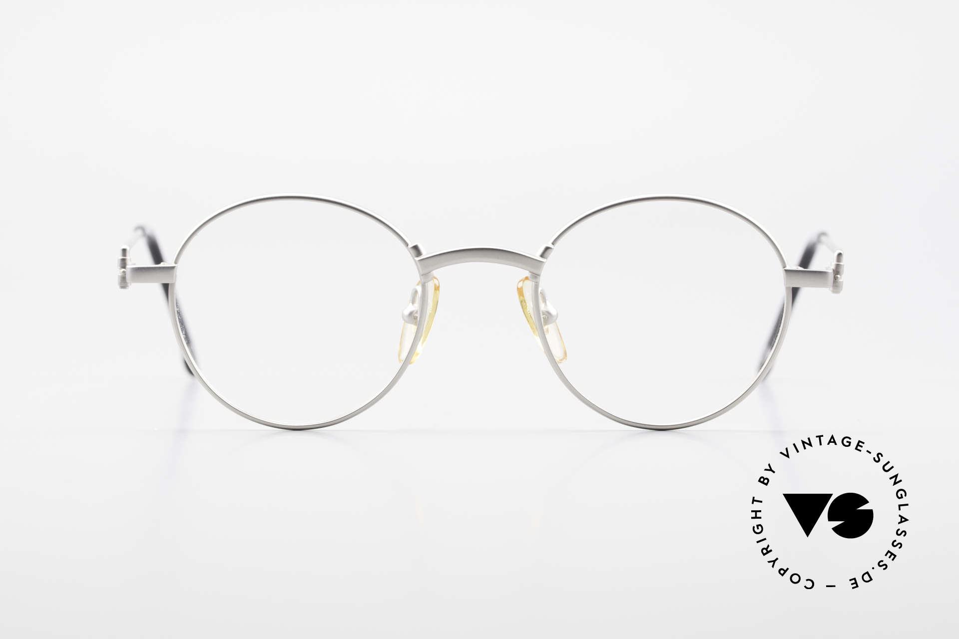 W Proksch's M32/8 Panto Glasses 90s Avantgarde, back then, produced by Wolfgang Proksch himself, Made for Men