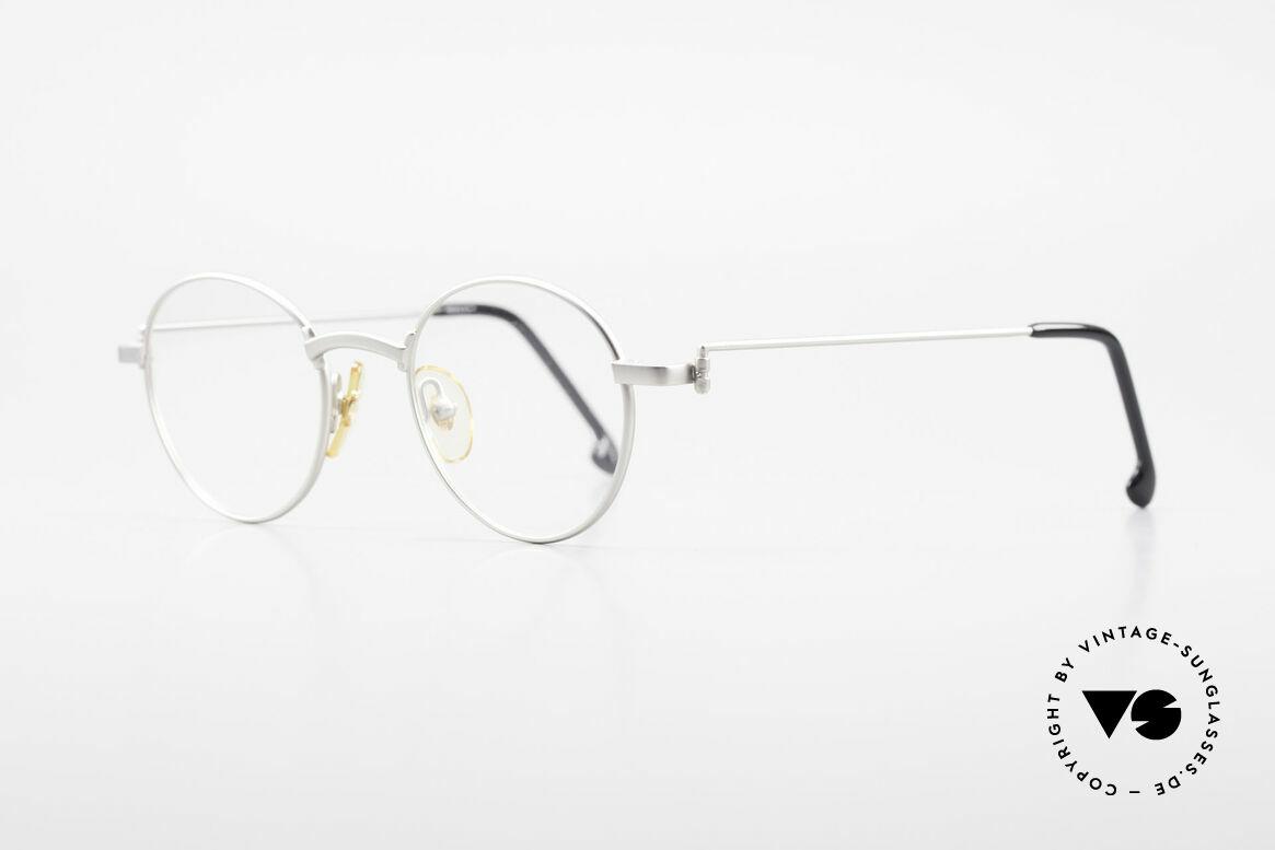 W Proksch's M32/8 Panto Glasses 90s Avantgarde, plain frame design & Japanese striving for quality, Made for Men