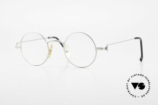 W Proksch's M30/8 Round Glasses 90s Avantgarde Details