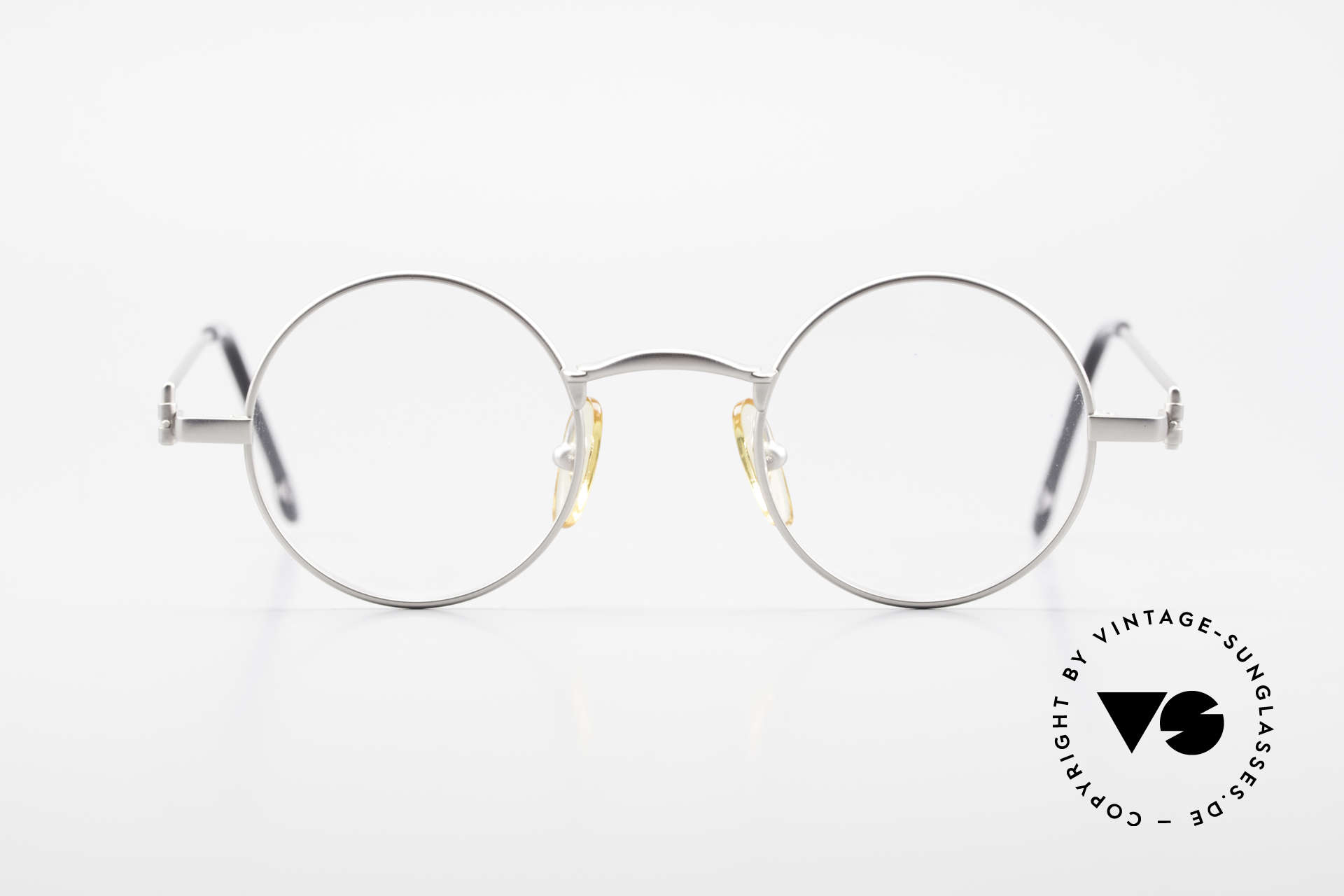 W Proksch's M30/8 Round Glasses 90s Avantgarde, back then, produced by Wolfgang Proksch himself, Made for Men
