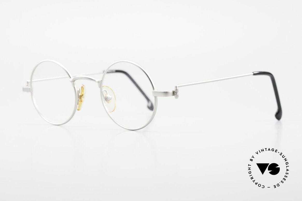 W Proksch's M30/8 Round Glasses 90s Avantgarde, plain frame design & Japanese striving for quality, Made for Men
