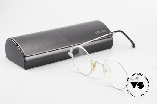 W Proksch's M30/8 Round Glasses 90s Avantgarde, NO RETRO SPECS; but an app. 25 years old rarity, Made for Men