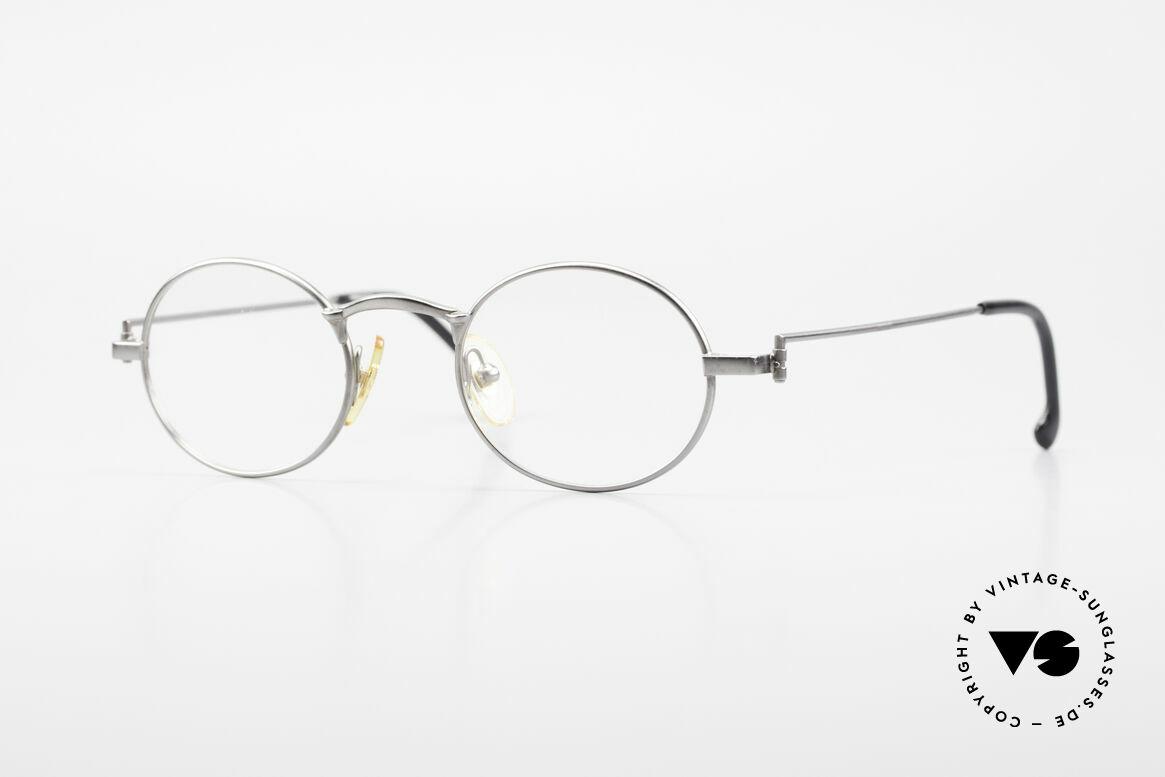 W Proksch's M31/11 Oval Glasses 90's Avantgarde, Proksch's vintage Titanium eyeglasses from 1993, Made for Men
