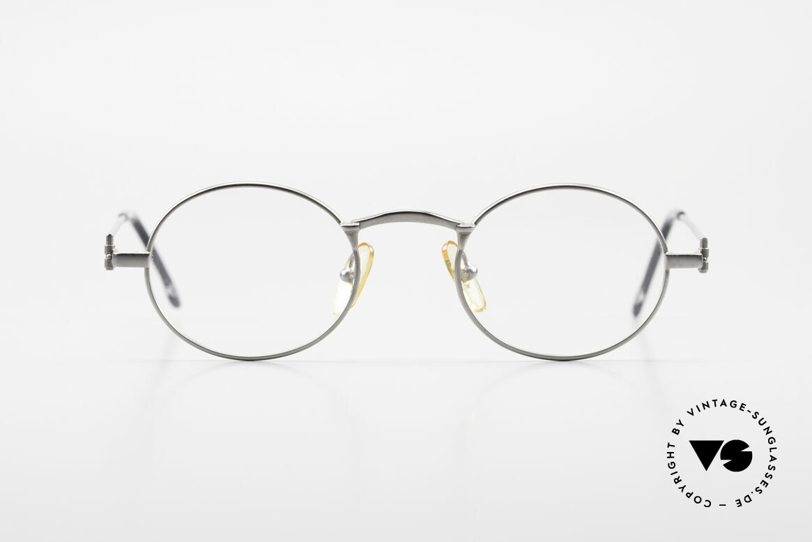W Proksch's M31/11 Oval Glasses 90's Avantgarde, back then, produced by Wolfgang Proksch himself, Made for Men