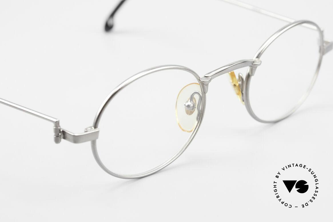 "W Proksch's M31/11 Oval Glasses 90's Avantgarde, this old WP ORIGINAL incarnates ""classy elegance"", Made for Men"