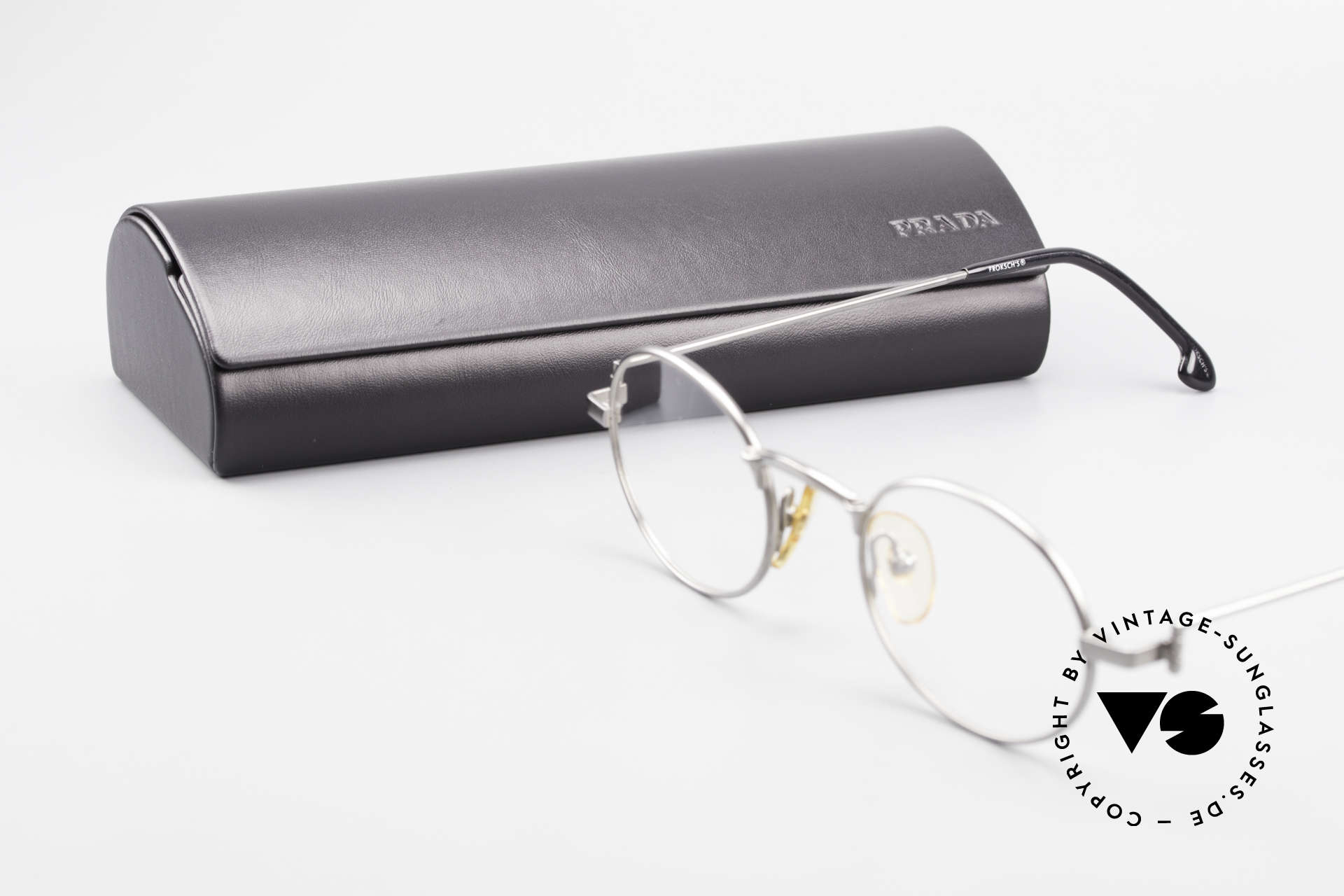 W Proksch's M31/11 Oval Glasses 90's Avantgarde, NO RETRO SPECS; but an app. 25 years old rarity, Made for Men