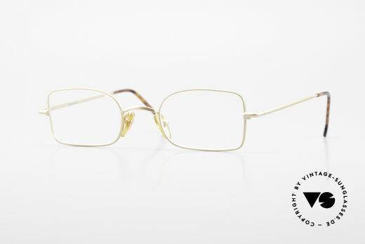 W Proksch's M19/9 Orig 90's Avantgarde Glasses Details