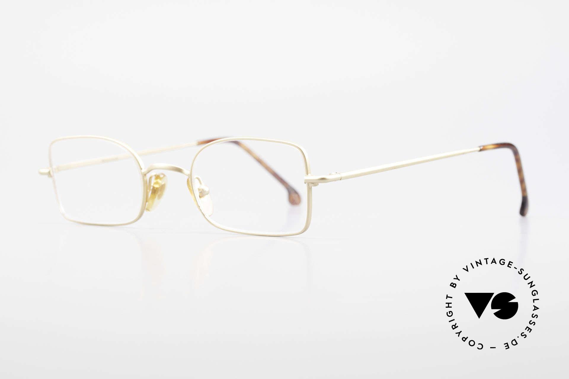 W Proksch's M19/9 Orig 90's Avantgarde Glasses, plain frame design & Japanese striving for quality, Made for Men and Women