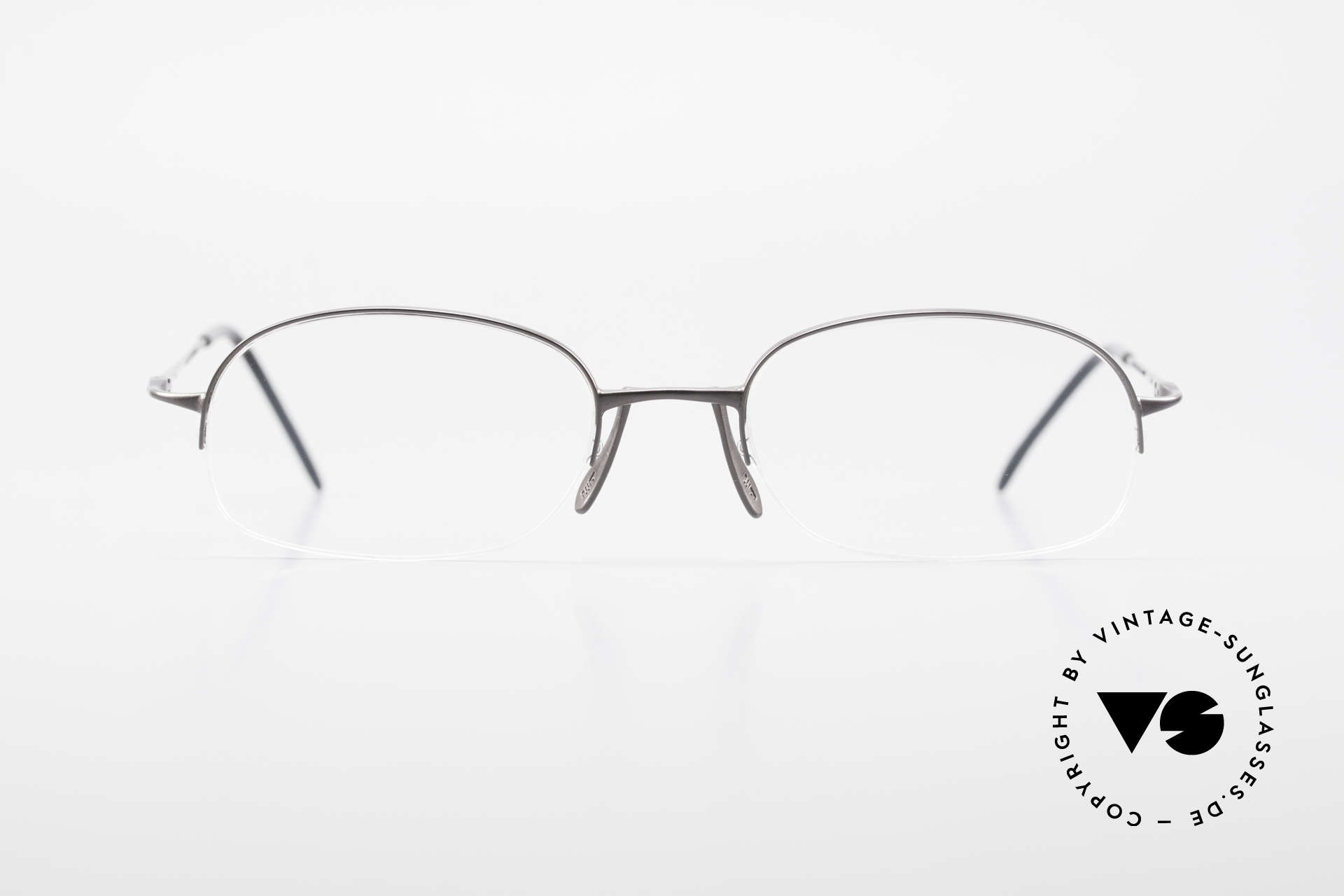 Wolfgang Proksch WP0007 Semi Rimless Titanium Frame, WP: one of the most influential eyewear designers, Made for Men