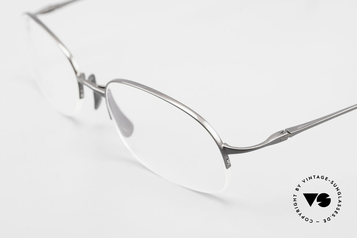 Wolfgang Proksch WP0007 Semi Rimless Titanium Frame, model of the 1st W.P. serie, produced by KANEKO, Made for Men