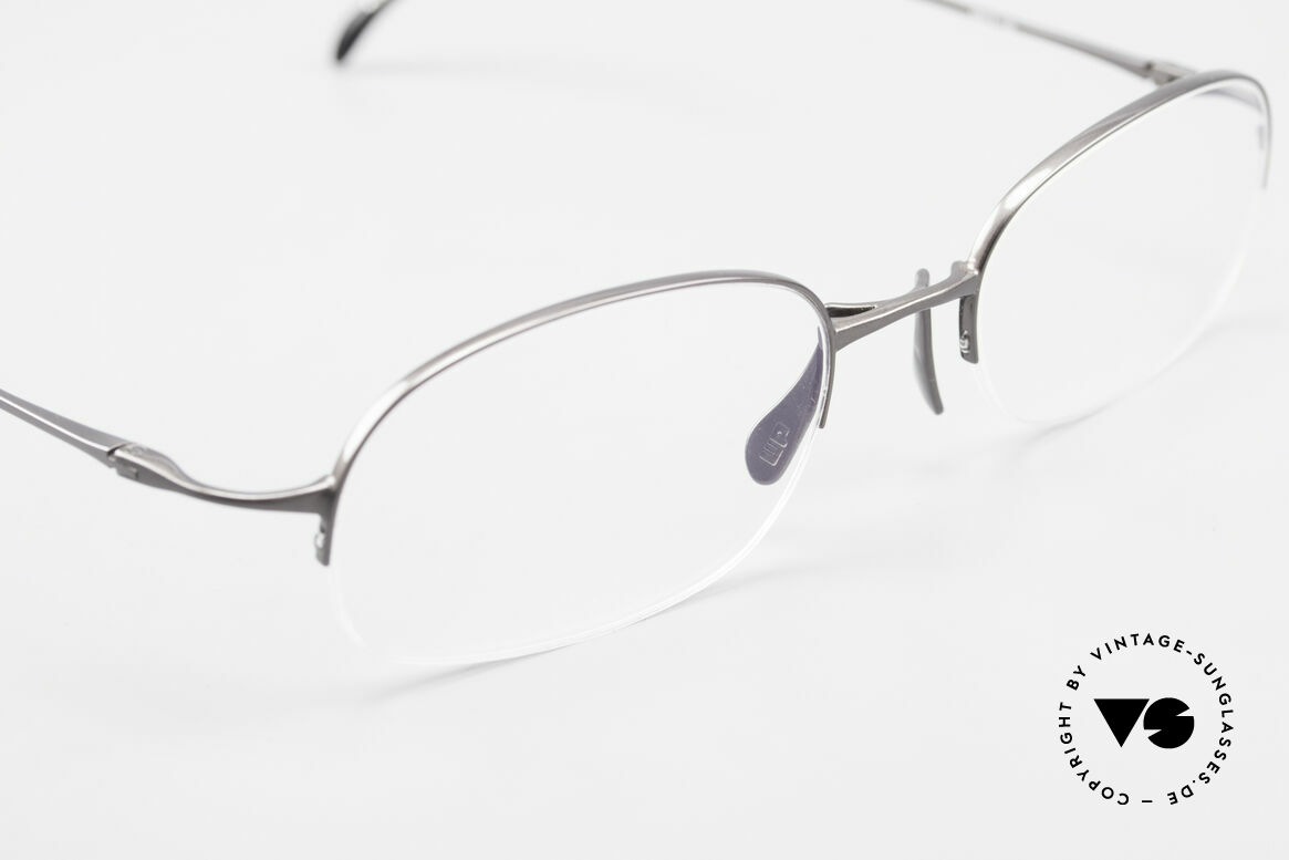 Wolfgang Proksch WP0007 Semi Rimless Titanium Frame, NO RETRO SPECS; but an app. 20 years old rarity, Made for Men