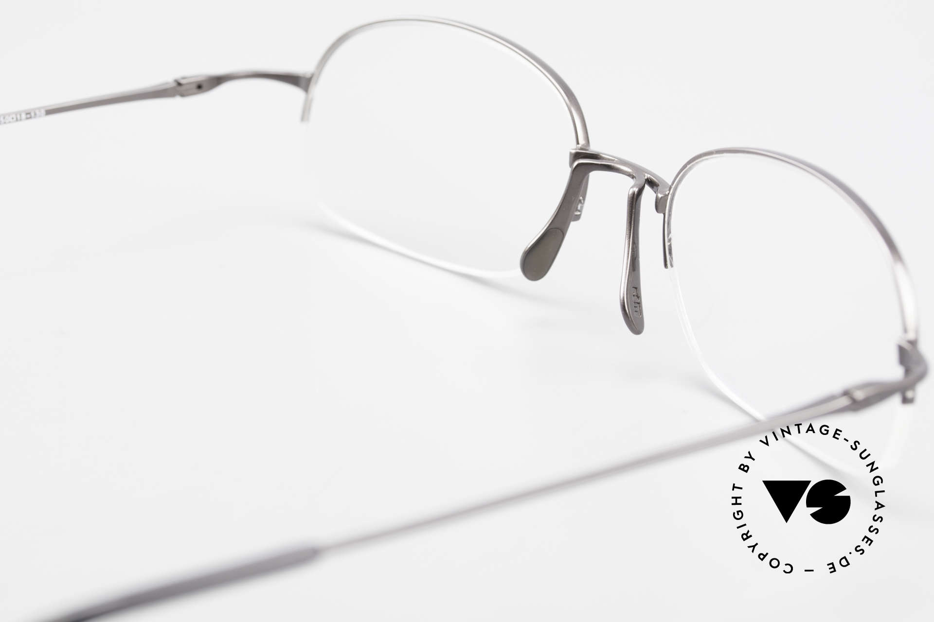 Wolfgang Proksch WP0007 Semi Rimless Titanium Frame, PROKSCH worked for Oliver Peoples, IC Berlin ..., Made for Men