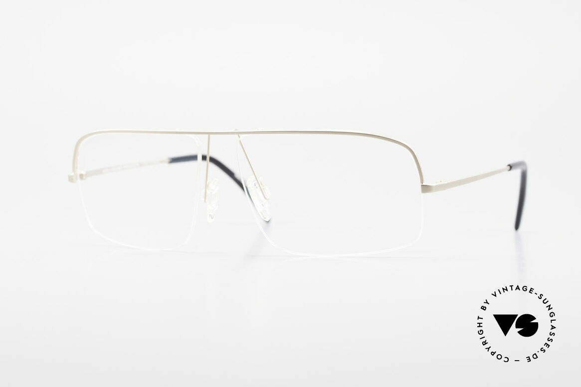 Wolfgang Proksch WP0103 New Tear Drop Titanium Frame, Wolfgang Proksch VINTAGE eyeglasses from 1999, Made for Men