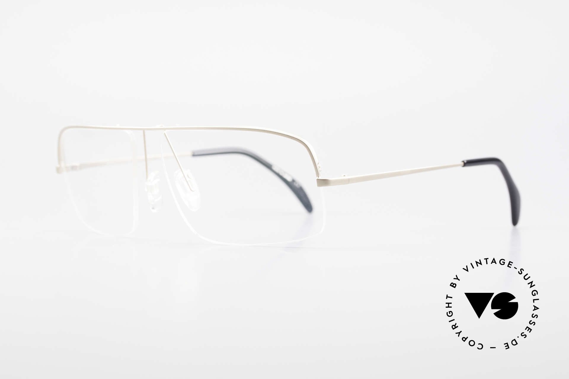 Wolfgang Proksch WP0103 New Tear Drop Titanium Frame, plain frame lines and Japanese striving for quality, Made for Men