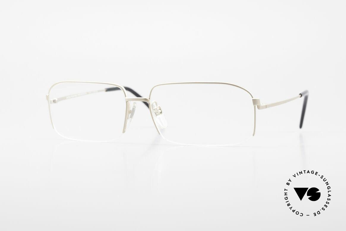 Wolfgang Proksch WP0102 Titanium Frame Made in Japan, Wolfgang Proksch VINTAGE eyeglasses from 1999, Made for Men