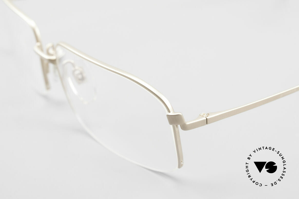 Wolfgang Proksch WP0102 Titanium Frame Made in Japan, model of the 1st W.P. serie, produced by KANEKO, Made for Men
