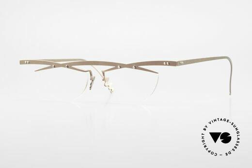 Theo Belgium Tita III 4 Crazy Vintage Glasses XL 90's Details