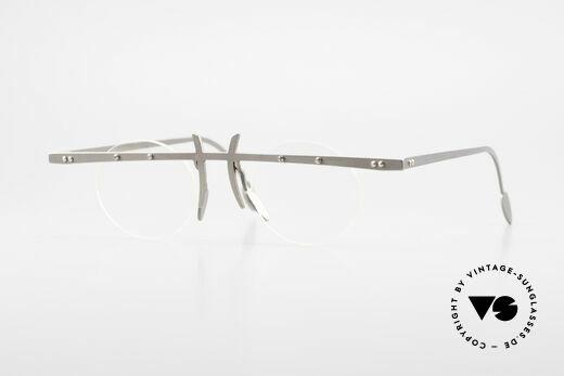 Theo Belgium Tita VI 3 Crazy Eyeglasses Titanium 90s Details