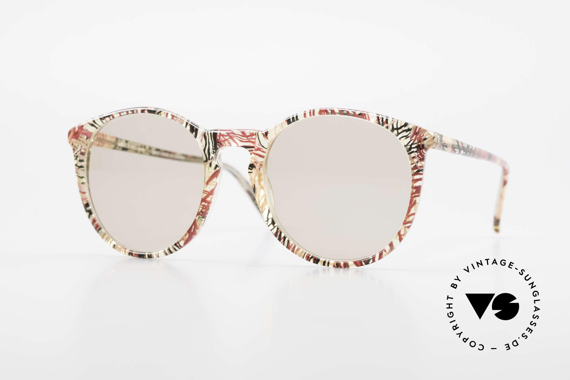 Alain Mikli 901 / 770 Panto Frame Crystal Patterned, elegant VINTAGE Alain Mikli designer sunglasses, Made for Men and Women