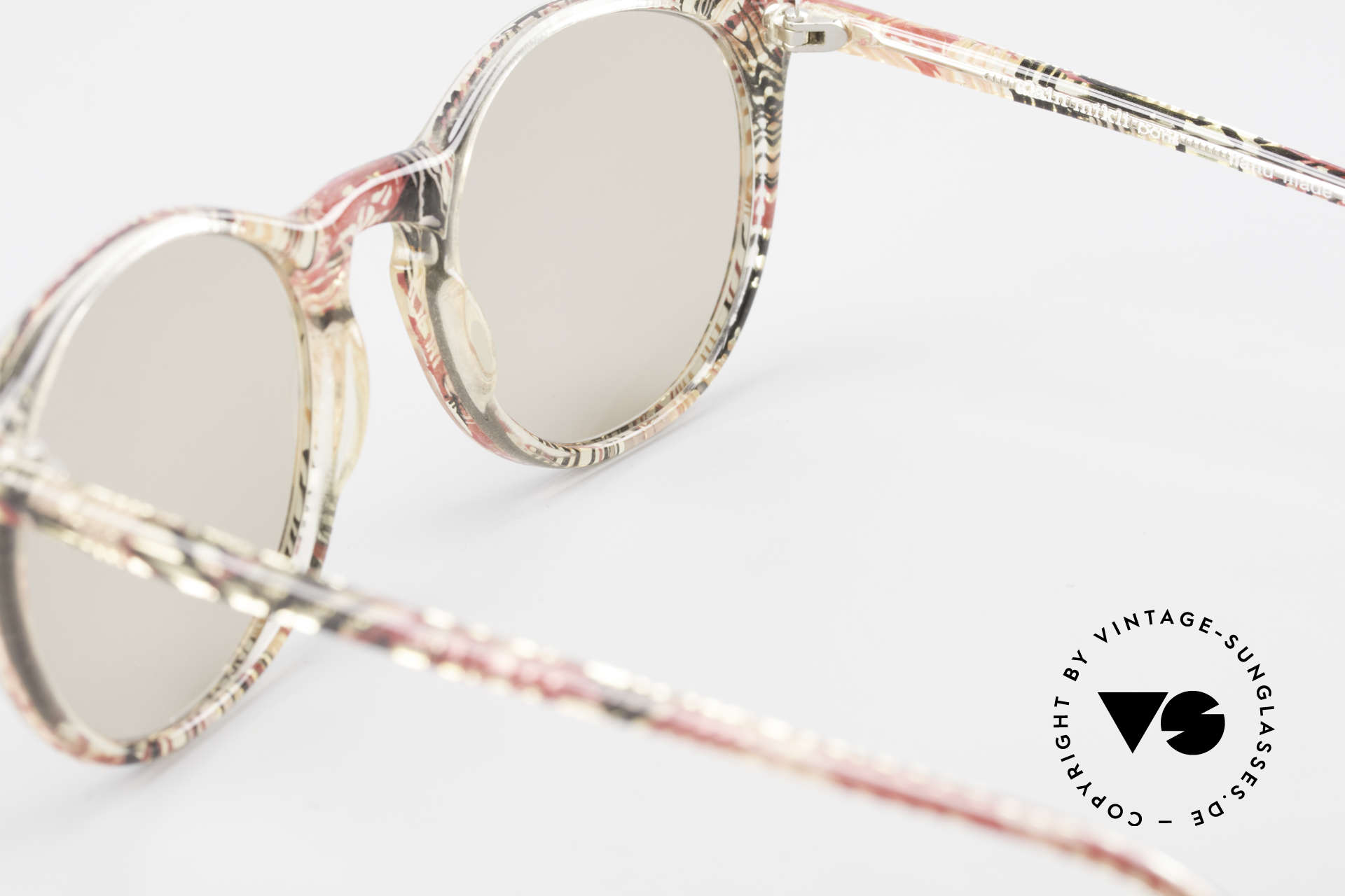 Alain Mikli 901 / 770 Panto Frame Crystal Patterned, NO RETRO shades, but an old ORIGINAL from 1989, Made for Men and Women