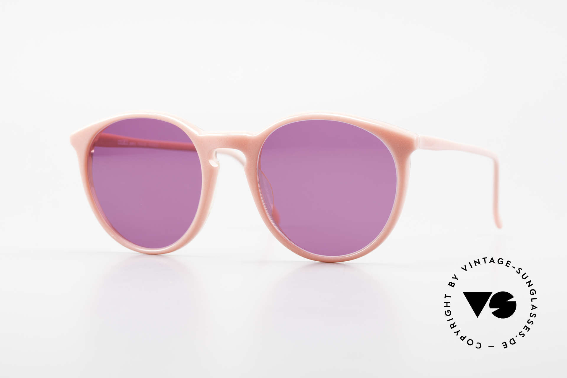 Alain Mikli 901 / 081 Panto Sunglasses Purple Pink, elegant VINTAGE Alain Mikli designer sunglasses, Made for Women